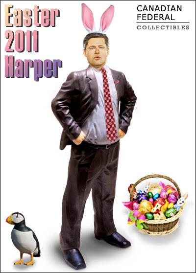 Stephen Harper figure: Easter 2011 Harper