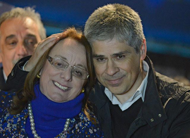 En Santa Cruz ganó Alicia (FPV) y Héctor Roquel (UCR), perdieron Costa (UCR) y Máximo (FPV)