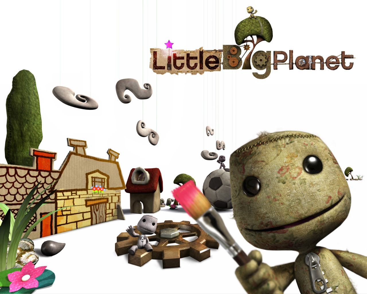 Ps3 Little Big Planet Wallpaper