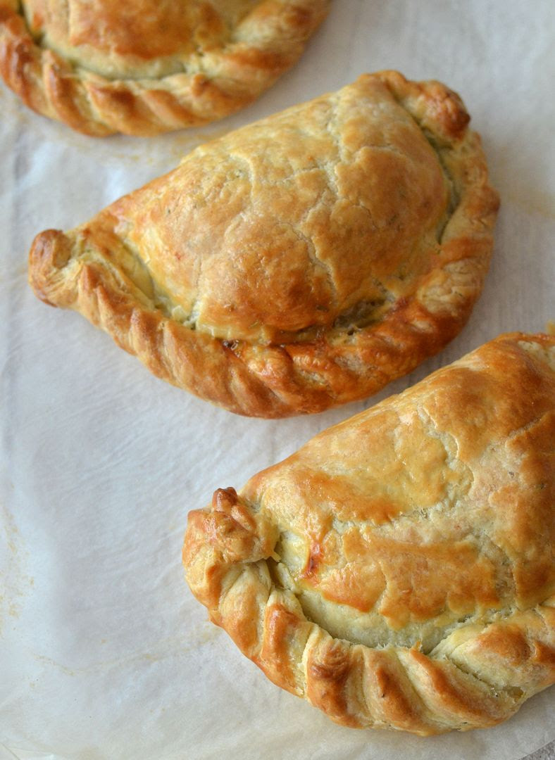 Roast Pork & Stuffing Pasties