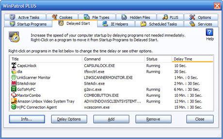 WinPatrol's current version 2007