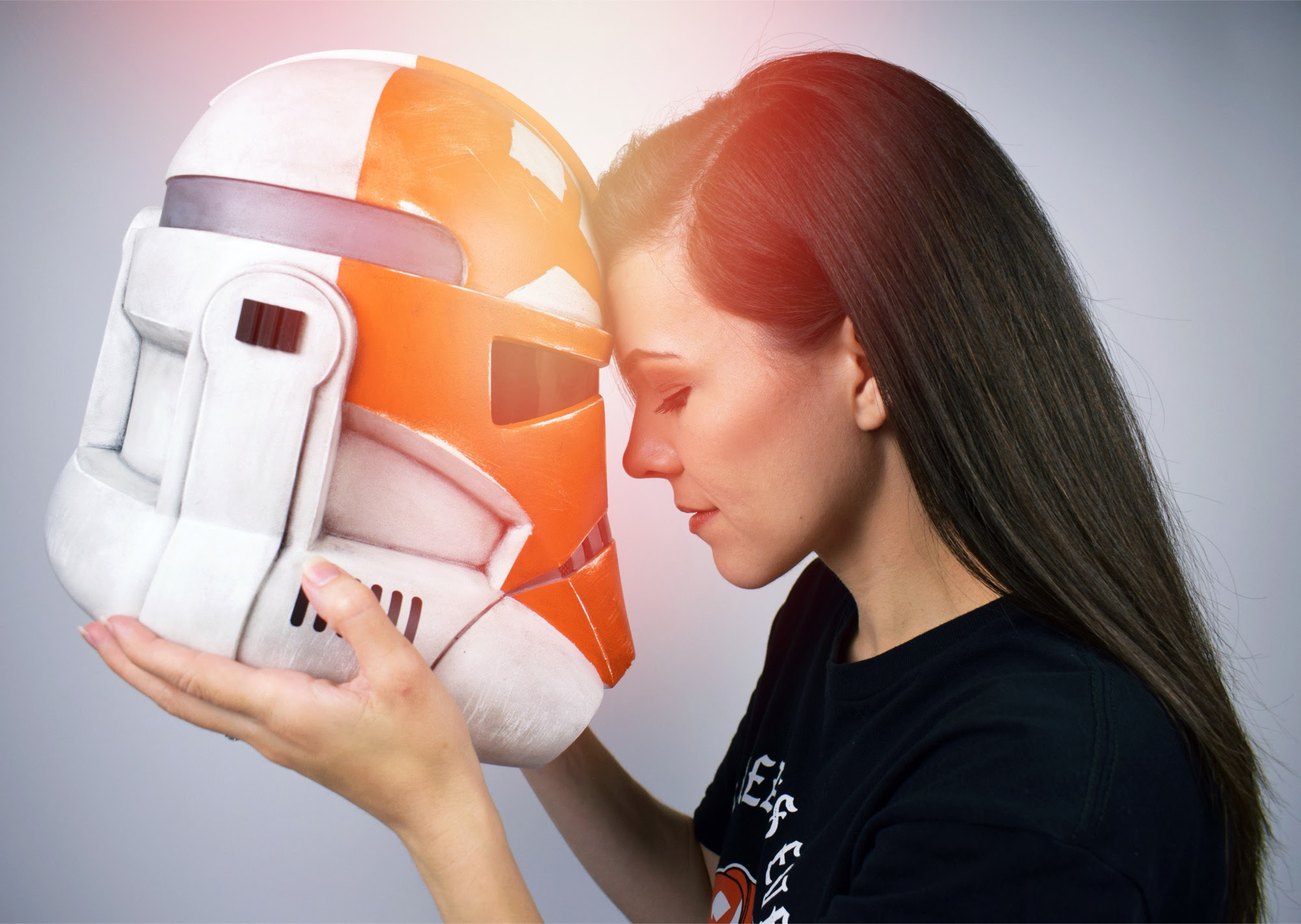 Star Wars 332nd Clone Trooper Helmet Review - SamoilovART   Anakin and His Angel