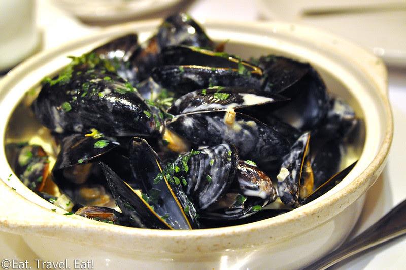 Cheval Bistro- Pasadena, CA: Mussels Dijonnaise Closeup