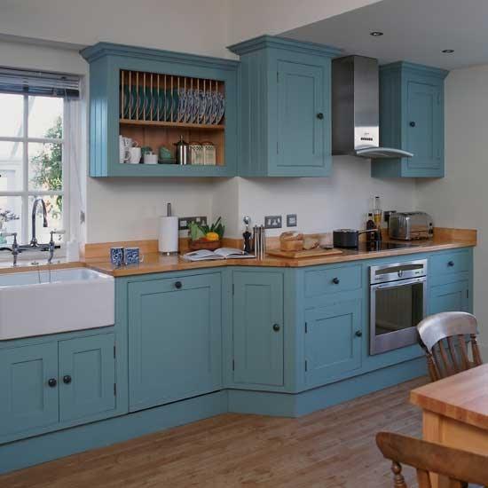 Vibrant Shaker kitchen | Shaker kitchens | Kitchen design ideas ...