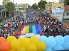 Comunidade LGBT colore ruas da capital (Quésia Melo/ G1)