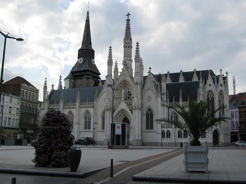 Roubaix Eglise sur la Grand Place