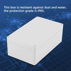 waterproof plastic diy junction box electrical projector