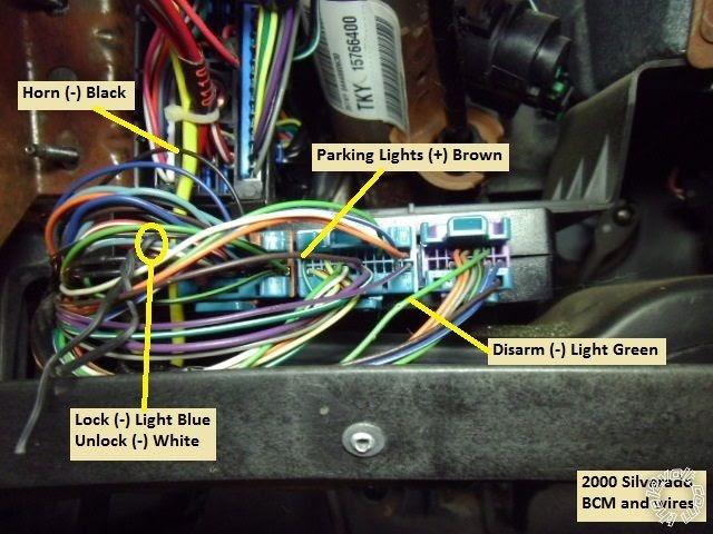 Remote Starter Wiring On 2002 Chevy Silverado