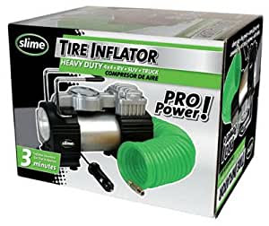 Amazon Com Slime Pro Power Heavy Duty 12 Volt Tire Inflator Automotive
