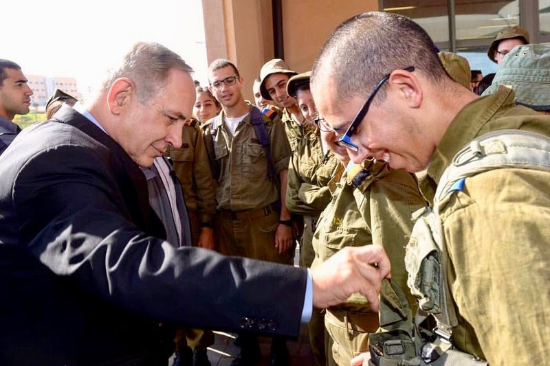 El primer ministro Benjamin Netanyahu y otros líderes israelíes son personalmente responsables de crímenes de guerra, según investigadores de derechos humanos. (a través de Facebook )