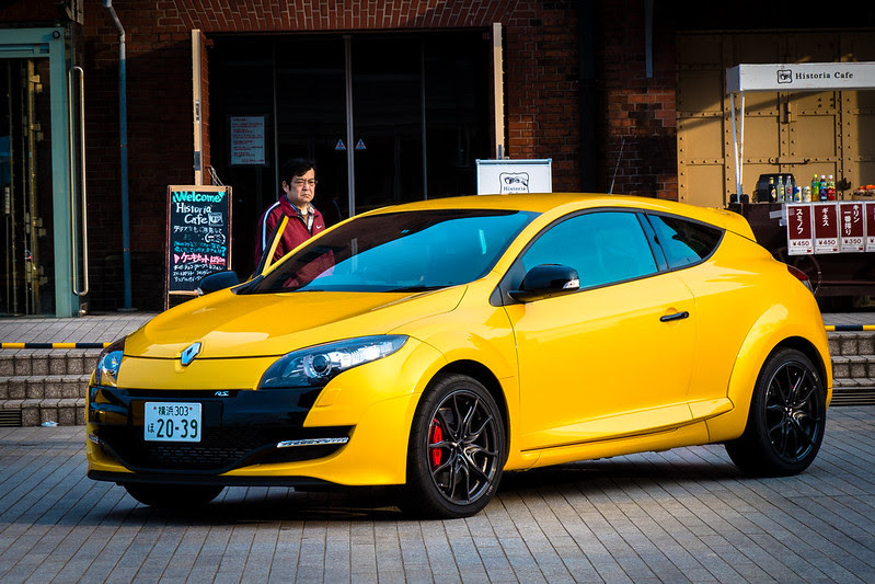 FZ200 1st Day Renault Megane RS