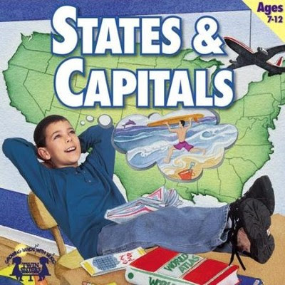 States & Capitals  [Music Download] -     By: Twin Sisters Productions