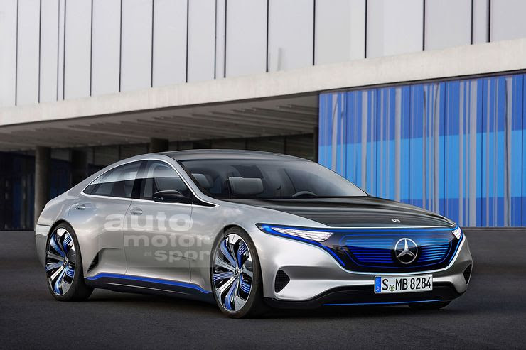 Mercedes-Benz EQS all-electric luxury sedan revealed in ...