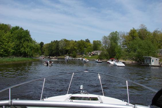 Boating On Lake Winnebago Fox River And Wolf River Of