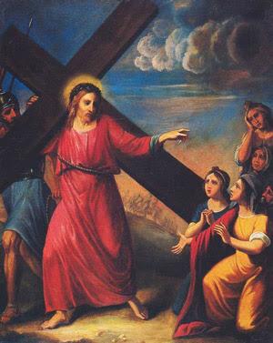Nona Stazione Gesù incontra le donne di Gerusalemme