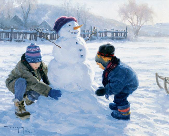 Snowman...Robert Duncan