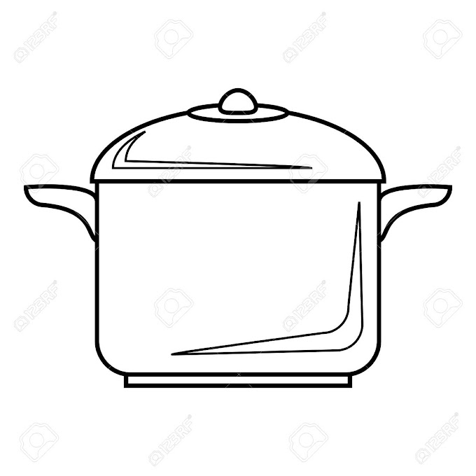 Cooking Pan Outline