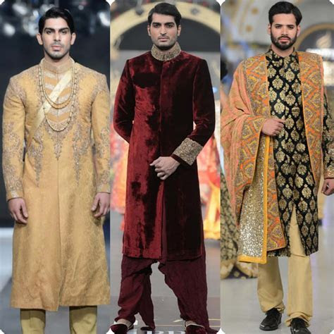 Best Pakistani Men Wedding Dresses for Groom 2018 1