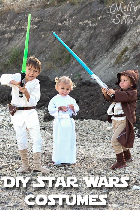 DIY Kids Star Wars Costumes - Melly Sews - Tutorials