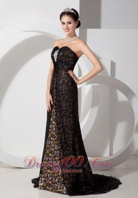 Black evening dresses 2013