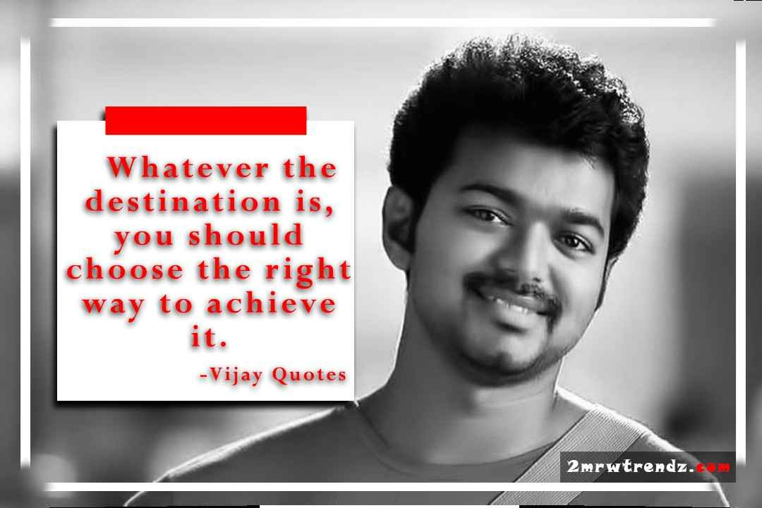 10 Amazing Actor Thalapathy Vijay Quotes In English Infographics