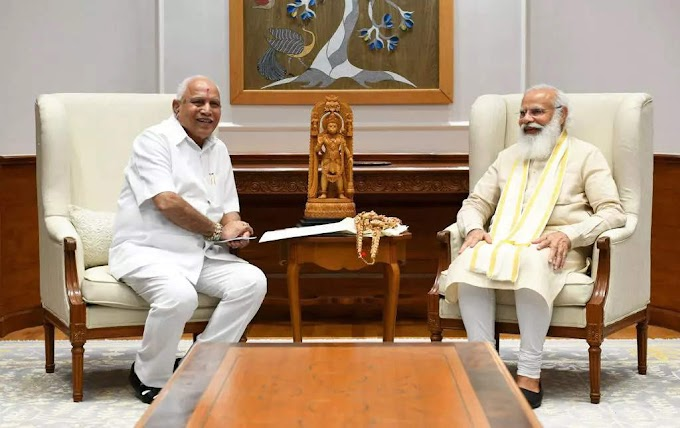 Had offered to quit in letter to Modi on July 10: BSY