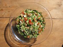 Taboule libanais vegan