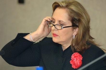 Ana Teresa Aranda, líder del PAN en Puebla. Foto: Miguel Dimayuga