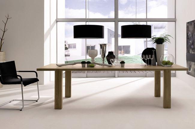 Design a modern dining room | Minimalisti.