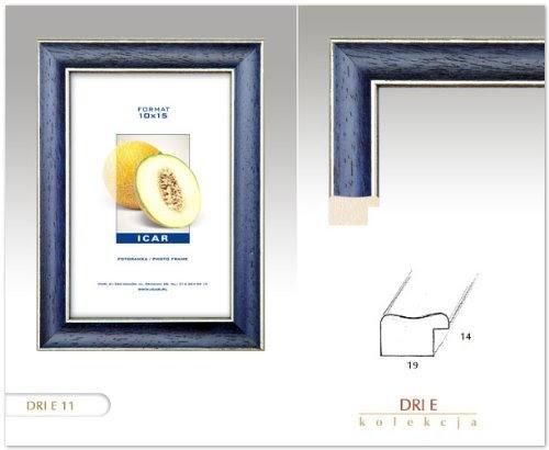 cadres cadre dri e bleu 20x30 cm cadre en bois cadre photo. Black Bedroom Furniture Sets. Home Design Ideas