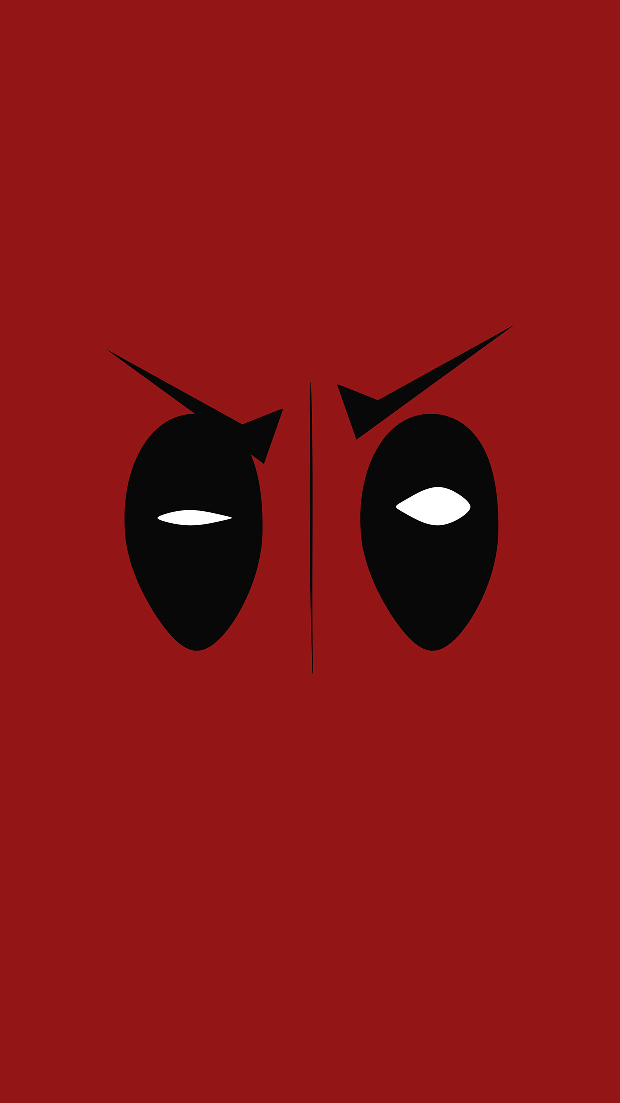 Iphone6papers Co Iphone 6 Wallpaper Ap59 Deadpool Hero Eye Logo