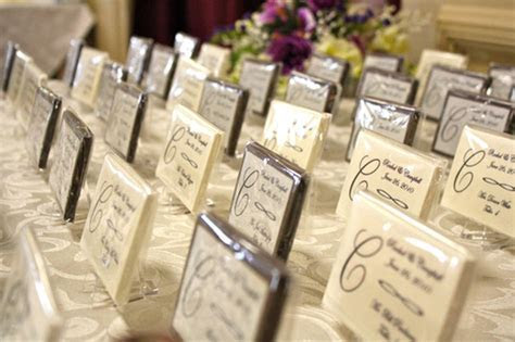 INSPIRATION: Edible Escort/Seating Cards   DIY   Project