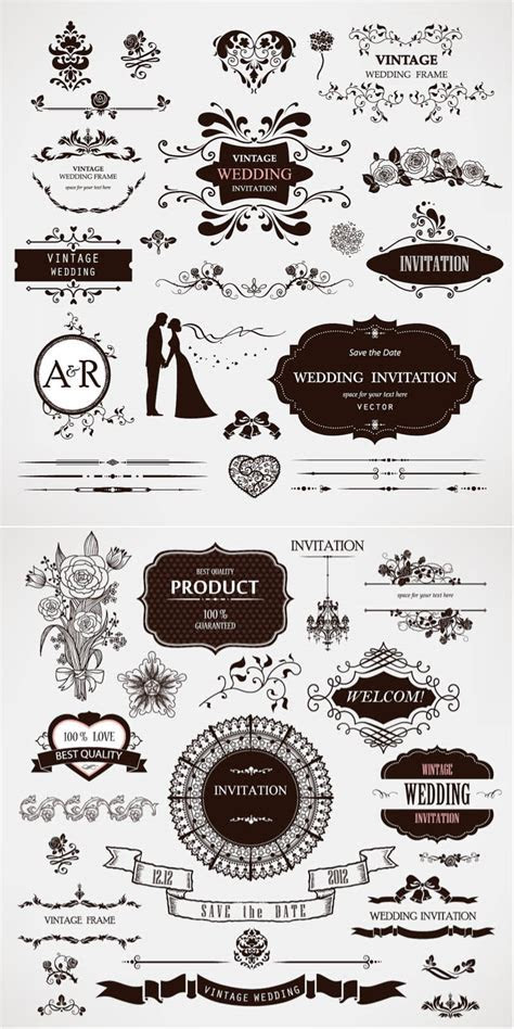 Wedding decor vector free download ? VectorPicFree (Free