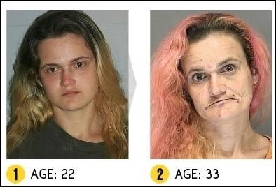 Resultado de imagem para antes e depois das drogas