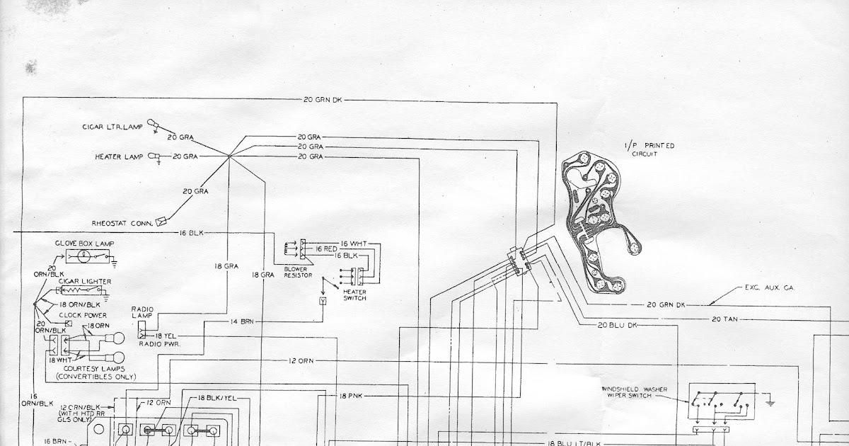 68 Le Man Fuse Box Diagram