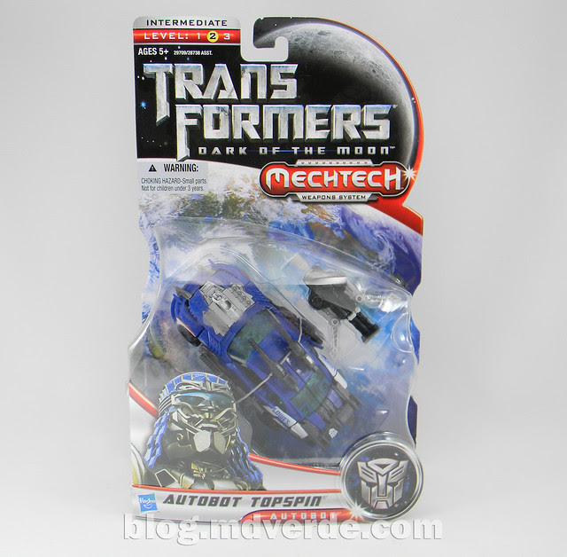 Transformers Topspin Deluxe - Dark of the Moon - caja