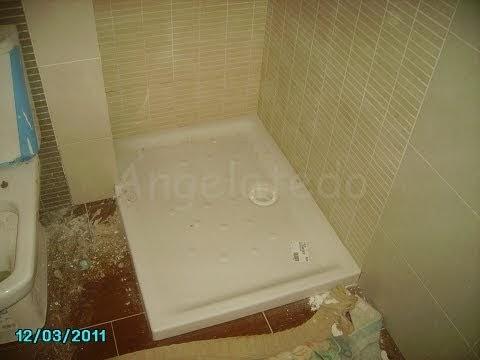 Colocar plato ducha roca rectangular angelatedo - Colocar plato ducha ...