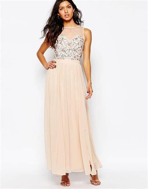 River Island Embellished Bodice Maxi Dress   bridesmaid