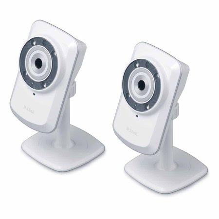2 Pack D Link DCS 932L Wireless Day Night Cloud Network Camera W Remote Viewing