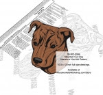 Mountain Cur Intarsia or Yard Art Woodworking Plan - fee plans from WoodworkersWorkshop® Online Store - Mountain Cur dogs,pets,animals,dog breeds,intarsia,yard art,painting wood crafts,scrollsawing patterns,drawings,plywood,plywoodworking plans,woodworkers projects,workshop blueprints