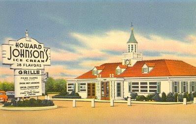 Howard Johnson's Postcard