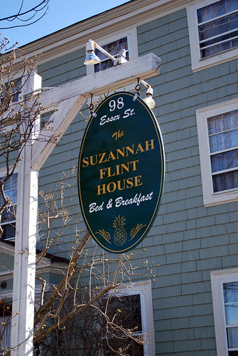 Suzannah Flint House Sign