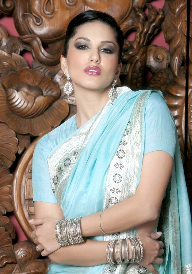 20 Sunny Leone In Saree Images Look Hot Sexy