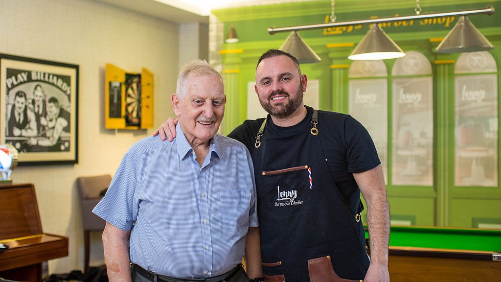 The barber helping men with dementia thumbnail