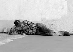 Homeless smoker