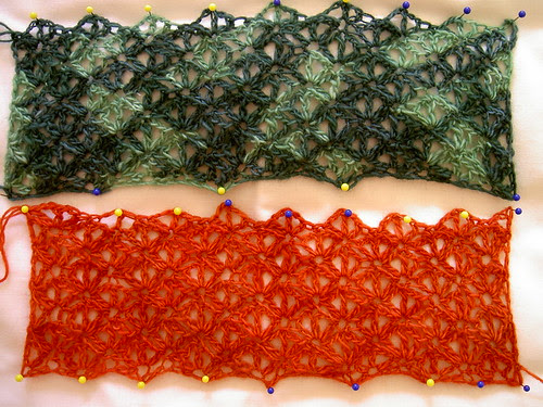 Swatched - Malabrigo lace