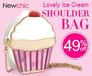 Women Ice Cream Crossbody Bag