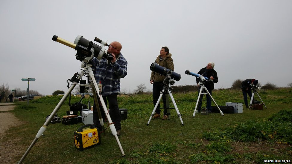 Members of the Mid Kent Astronomical Society