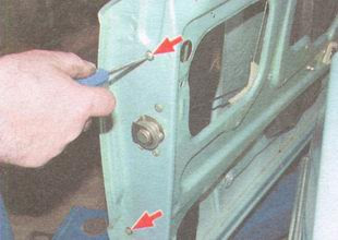 статья про Замена замка передней двери и наружной ручки замка ВАЗ 2106