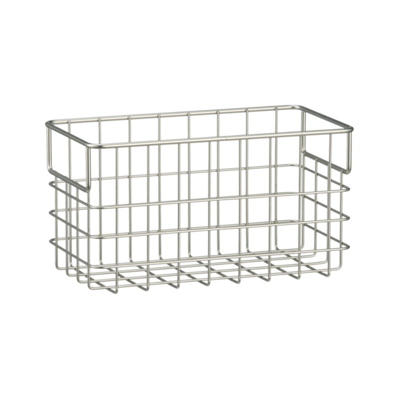 Large Wire Basket in Storage Baskets & Bins | Crate and Barrel